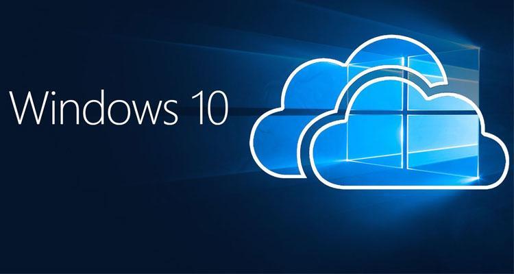 Logotipo Windows 10 Cloud
