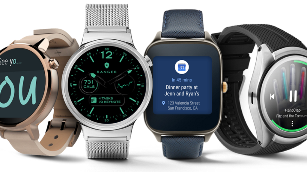 Modelos con Android Wear 2.0