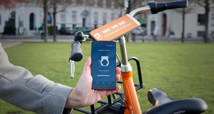 Donkey Republic alquilar bicicletas