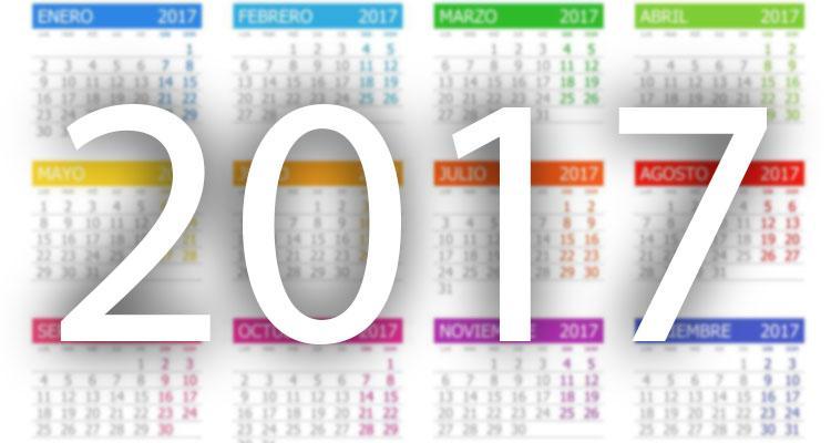 Calendario de Festivos 2017