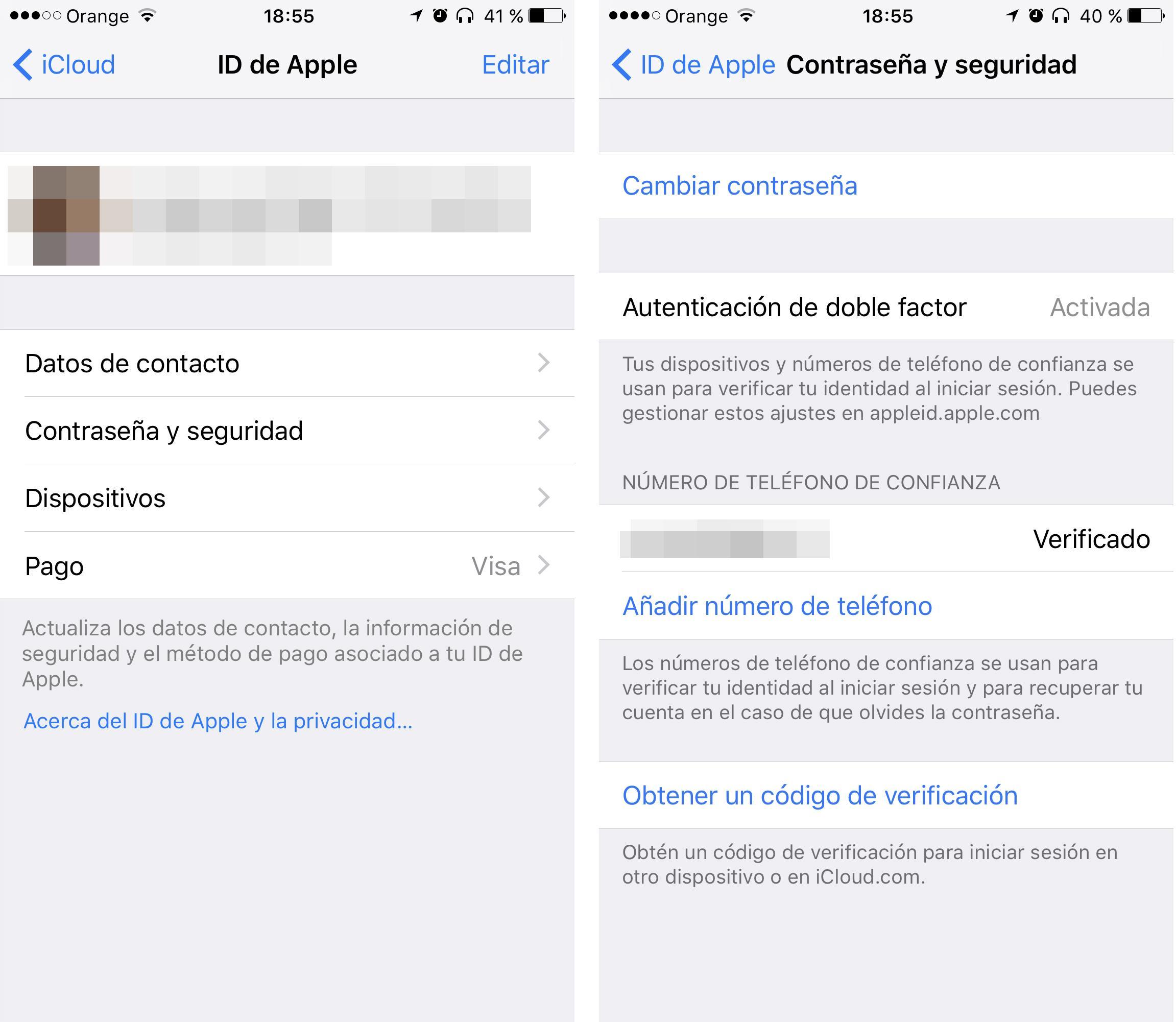 c2535e4abbc Así se activa la verificación en dos pasos de tu ID de Apple - Topes ...