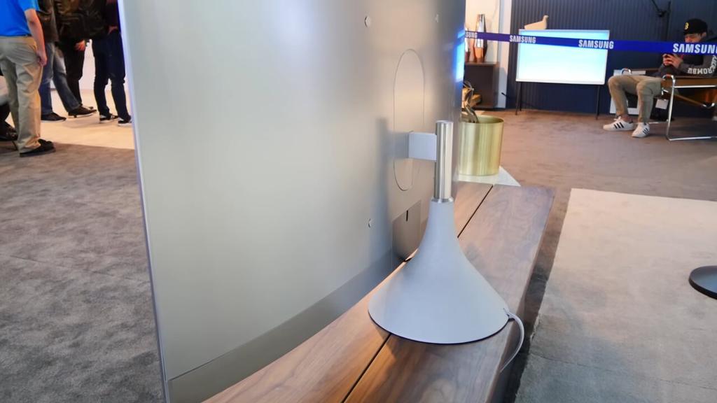 Pena circular en los Samsung QLED