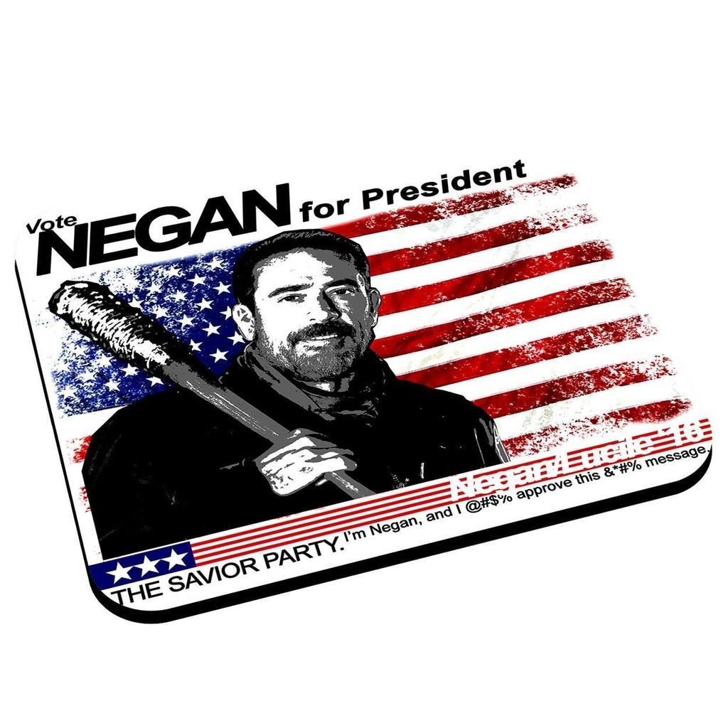 Alfombra para ratón de Negan para la serie The Walking Dead
