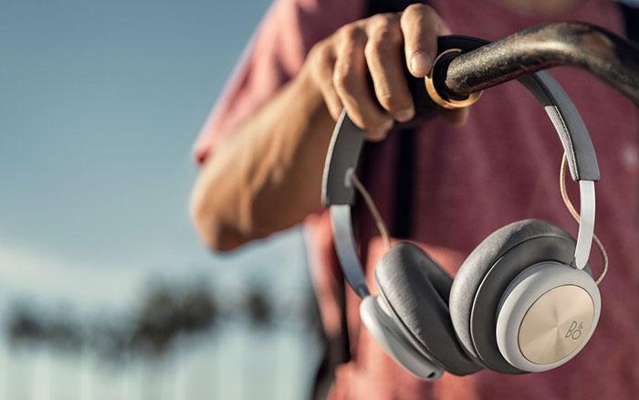 Aspecto de los auriculares B&O Beoplay H4