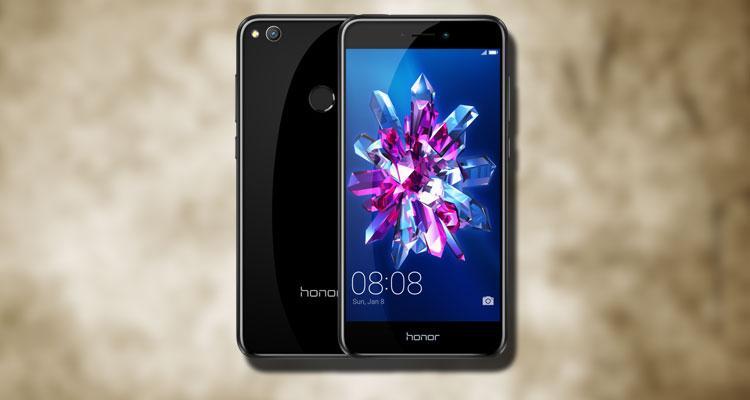 Teléfono Honor 8 ite de color negro
