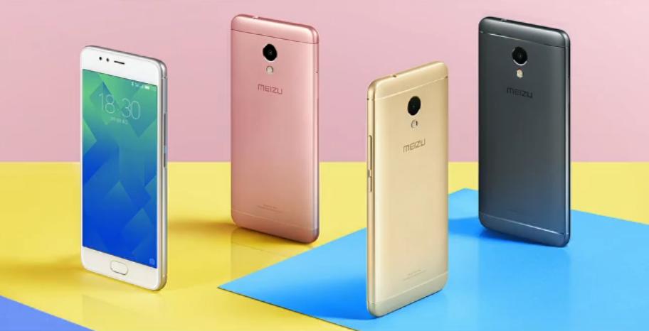 Colores del Meizu M5s