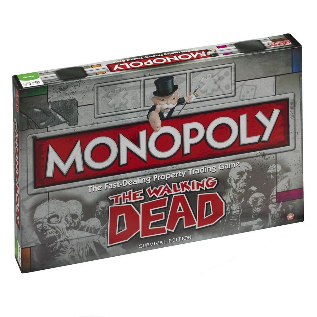 Juego de mesa Monopoly The Walking Dead