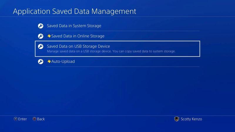Reconocimiento de HD Externo en una PS4