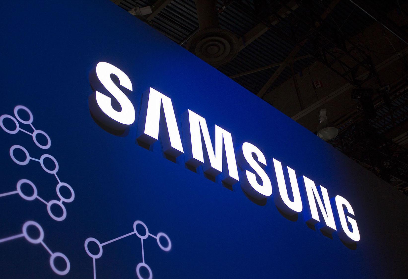 Logotipo de la compañía Samsung