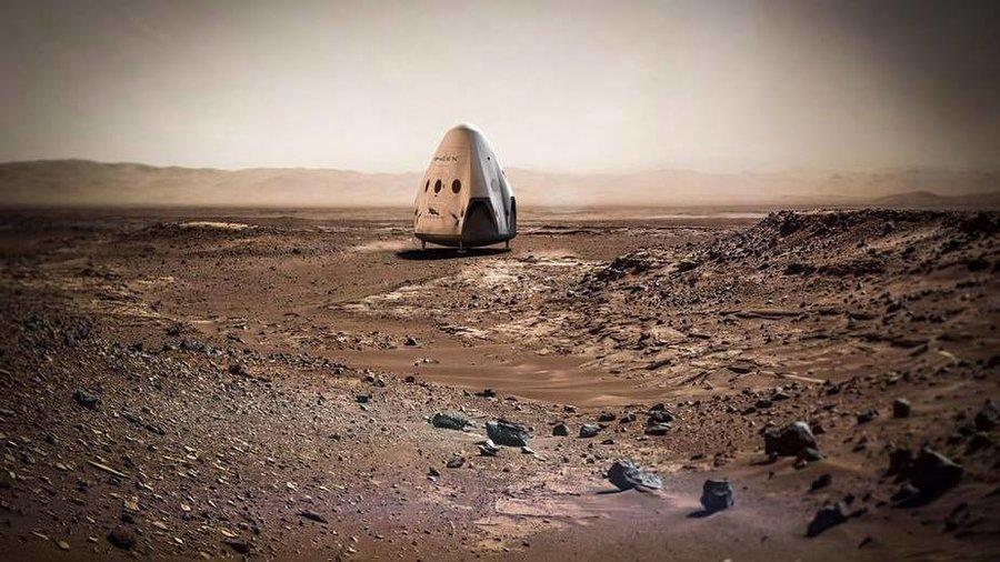Proyecto Marte de Space X