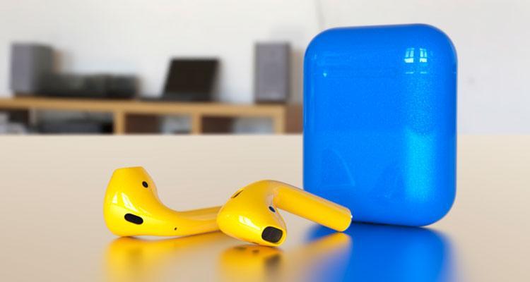 AirPods de Apple de colores