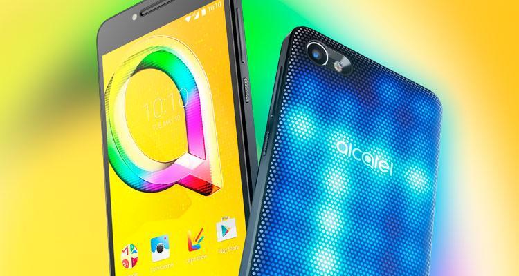 Alcatel presenta sus nuevos smartphones A5 LED, A3 y U5 ...