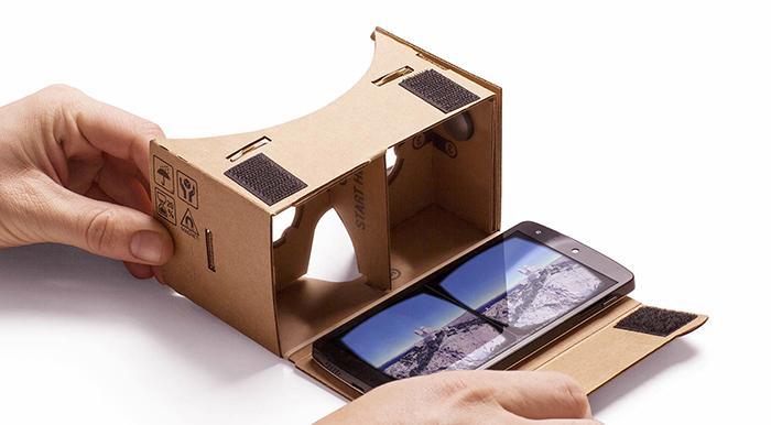 Cardboard realidad virtual