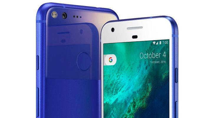 Google Pixel azul