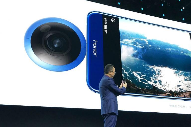 Presentación e la Honor VR