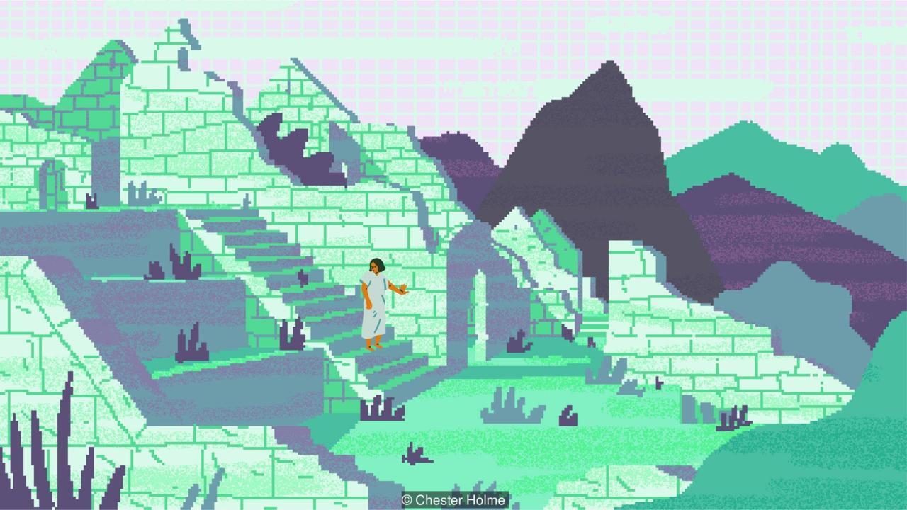Machu Pichu recreación VR