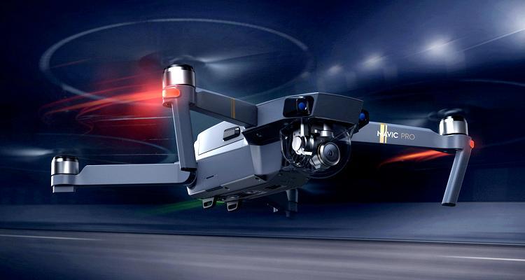 Dron Mavic Pro de DJI