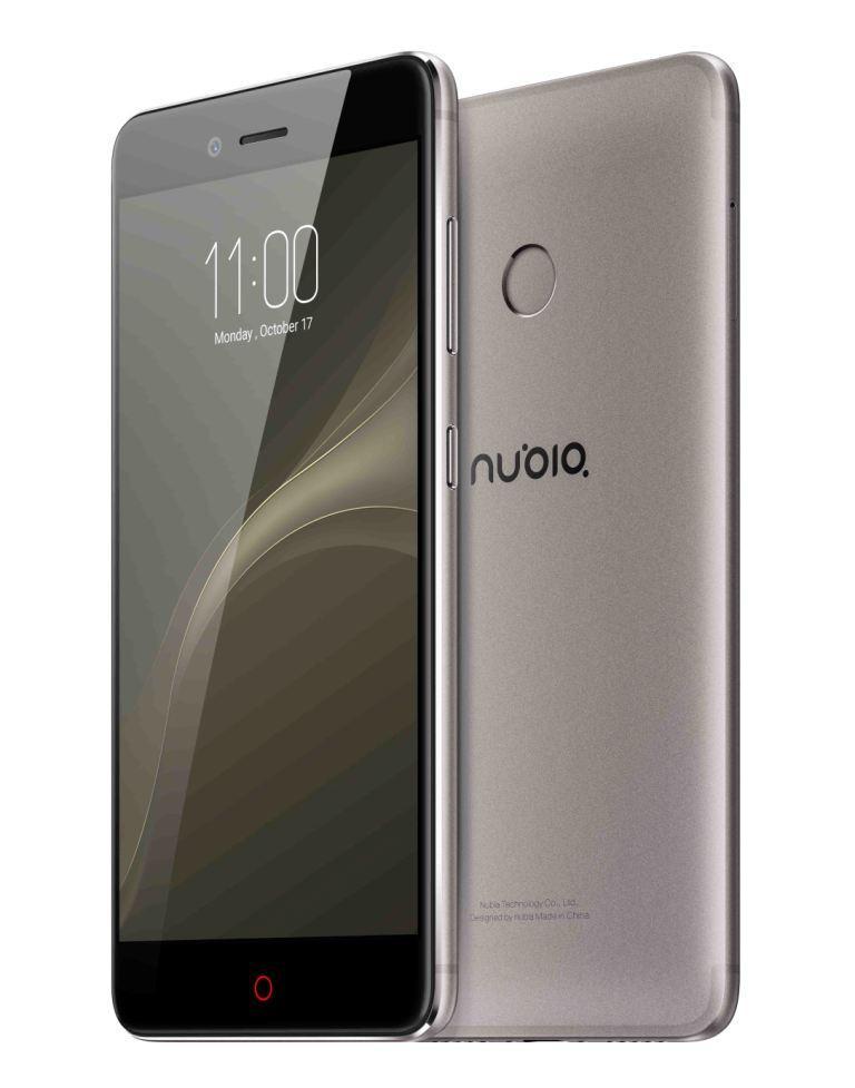 Teléfono nubia Z11 miniS de color gris