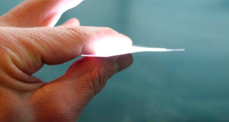 Impresora de papel con luz