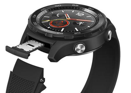 tarjeta nanosim del huawei watch 2