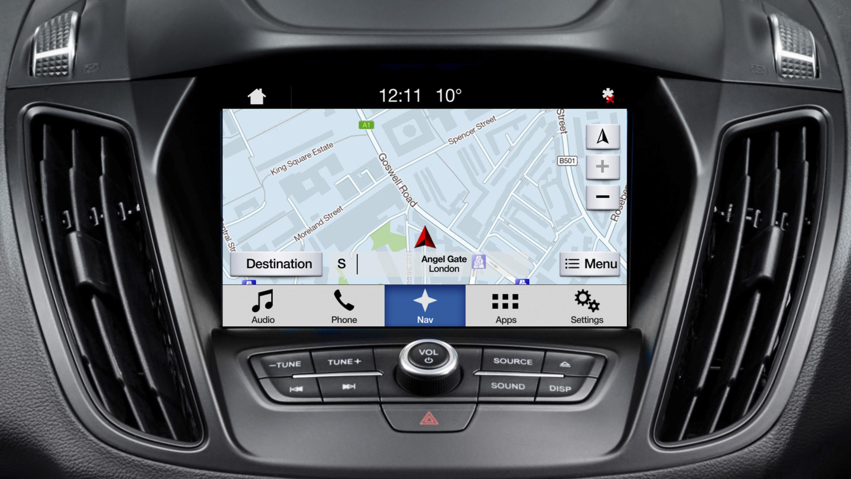 Sistema de navegación SYNC de Ford