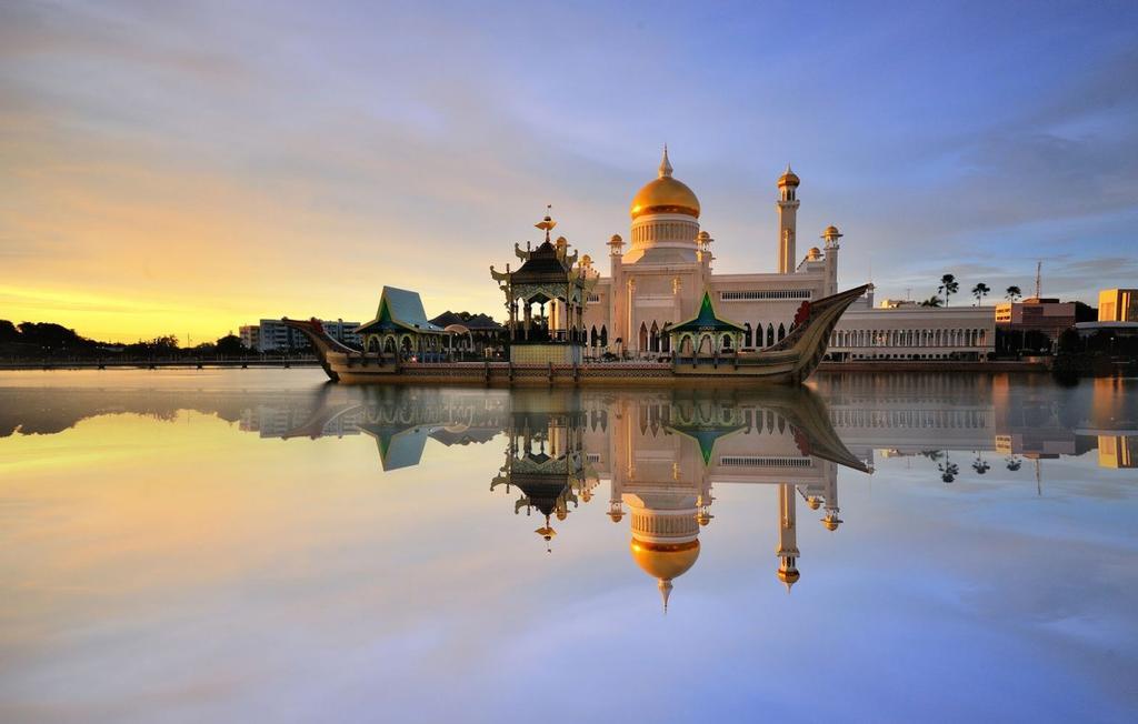 Fondo de escritorio Ali Saifuddien mezquita