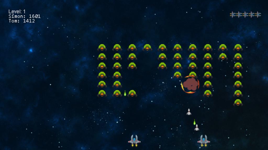 Juego Aliens Invaders para Chromecast