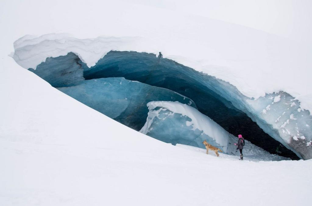 Fondo de escritorio glaciar Athabasca