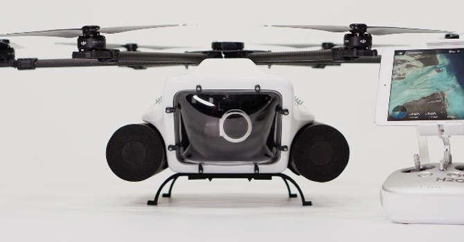 Nuevo drone HexH2O