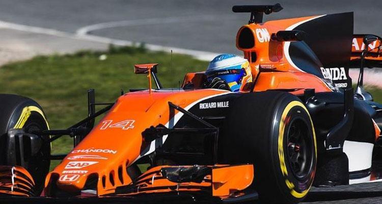 Vodafone Motor Fernando Alonso F1