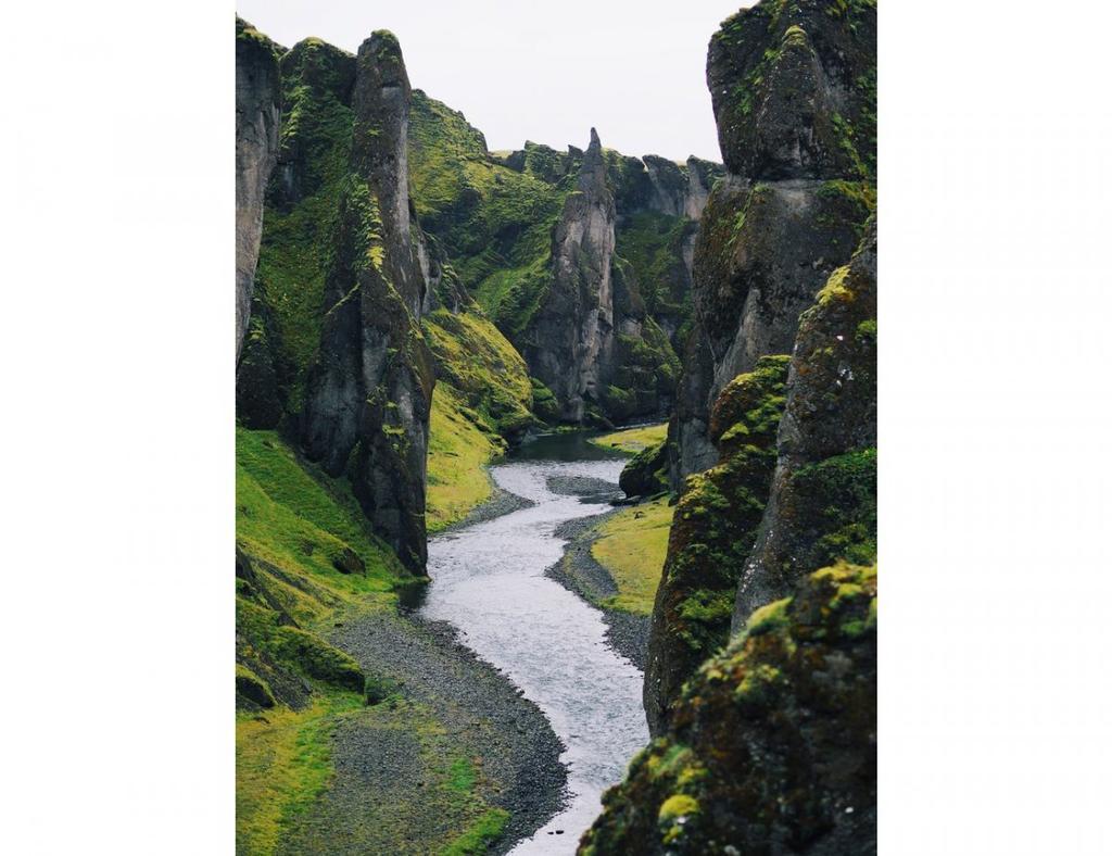 FOndo de escritorio Fjadrárgljúfur en Islandia