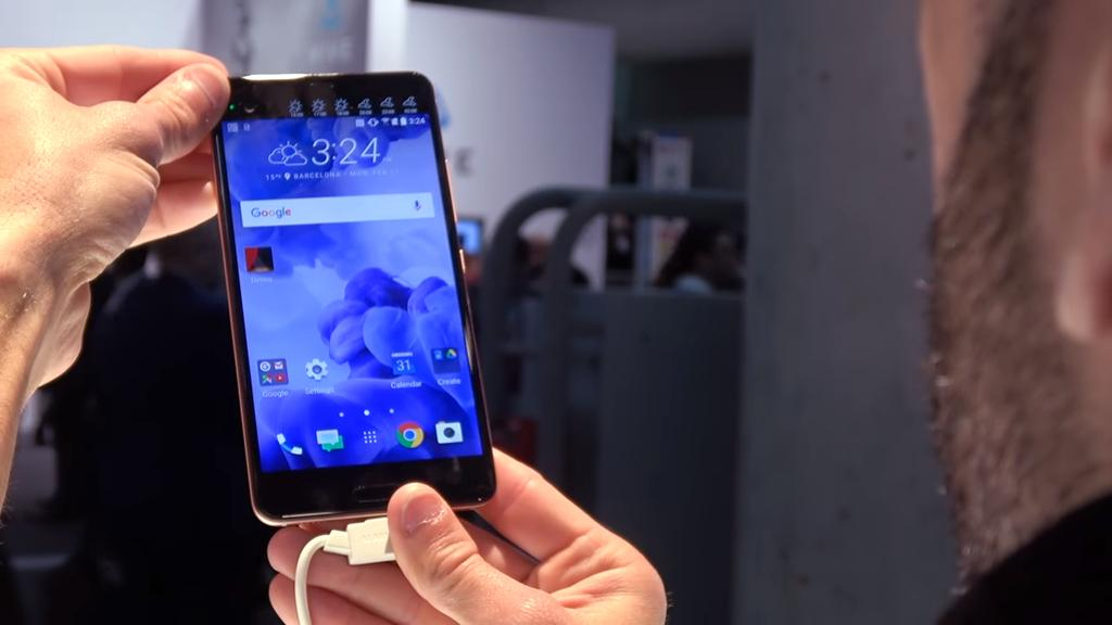 Frontal del HTC U Ultra