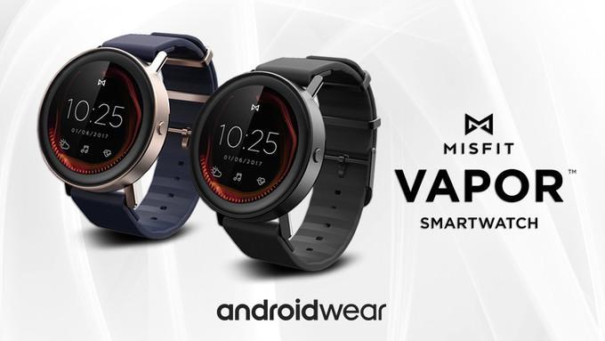 Confirmación de Android Wear 2.0 en Misfit Vapor