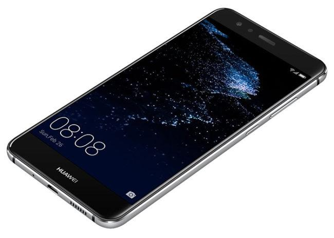 Imagen lateral del Huawei P10 Lite