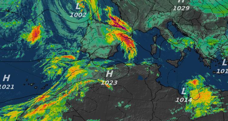 Previsión del tiempo en España