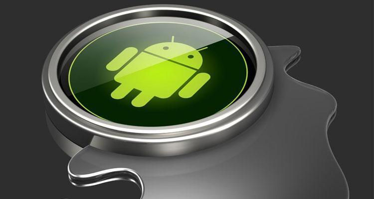 Logotipo de Android en 3D
