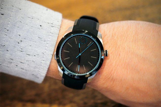 Diseño del reloj inteligente Movado Bold