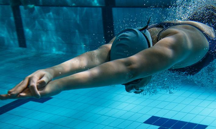 Uso de Polar H10 al nadar