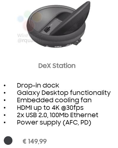 Accesorio Samsung Galaxy S8 DeX