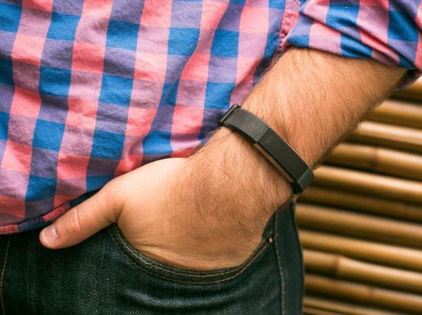 Uso de la pulsera Fitbit Alta HR
