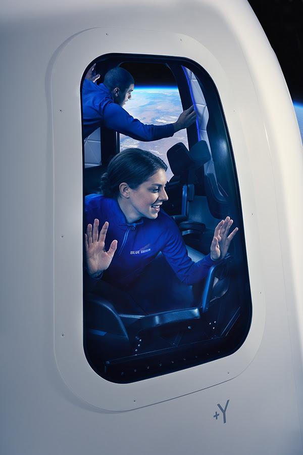 Ventana interior de las cápsulas espaciales