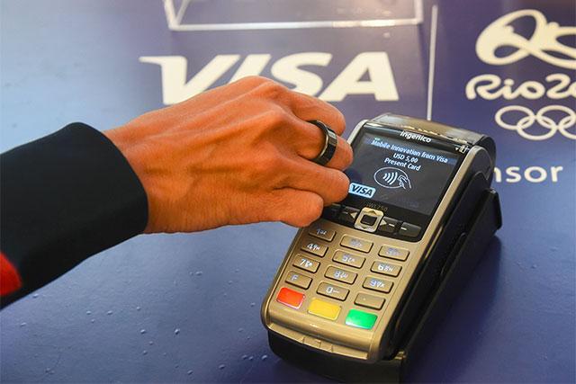 Visa anillo de pago