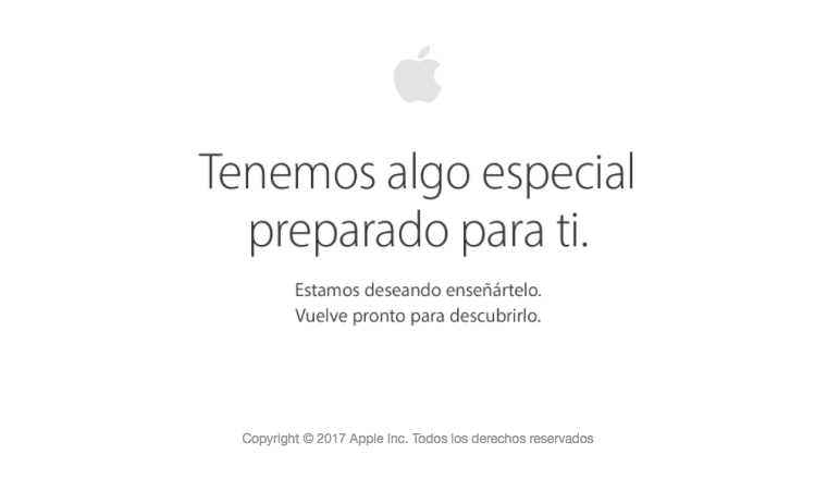 Apple Store mantenimiento