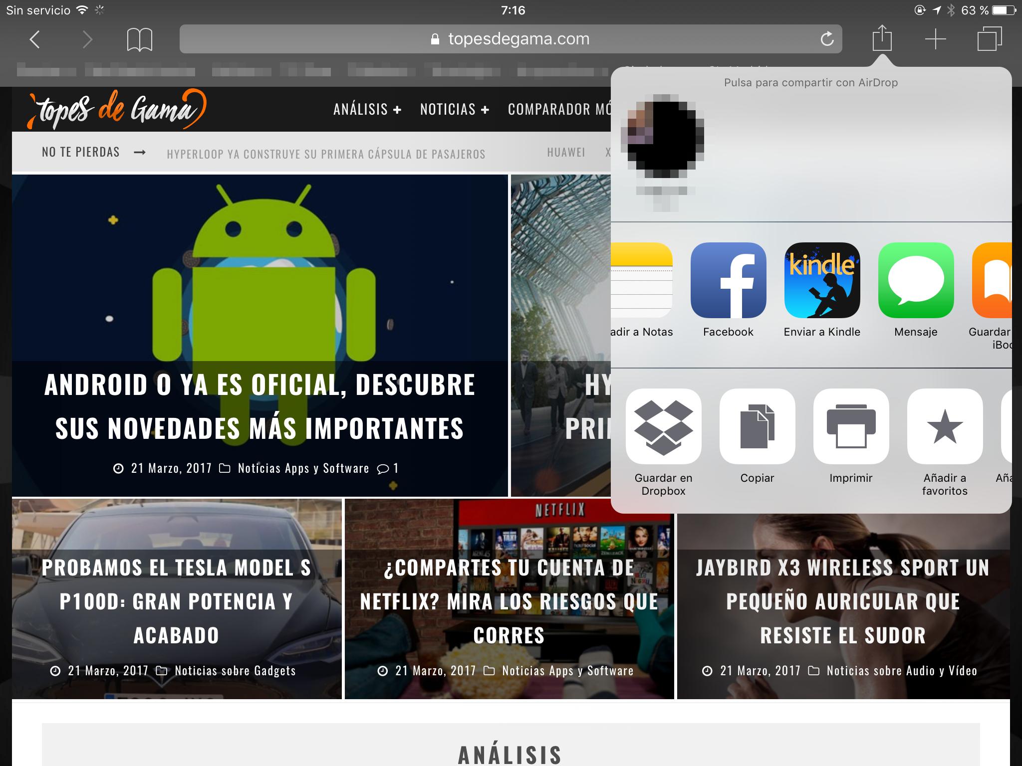 Kindle para iOS
