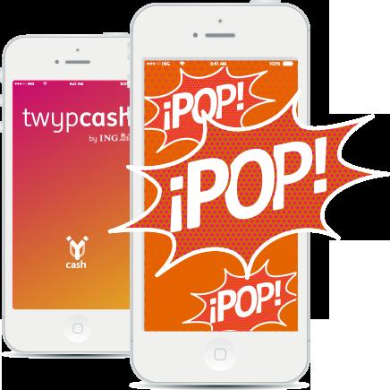 Sencillo uso Twyp Cash