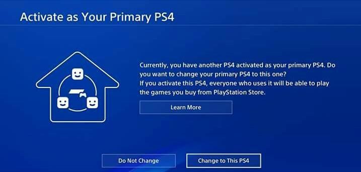 PS4 consola principal
