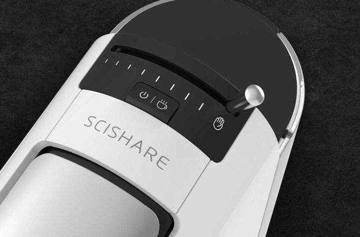 Imagen superior de la cafetera Scishare Coffee Maker de Xiaomi