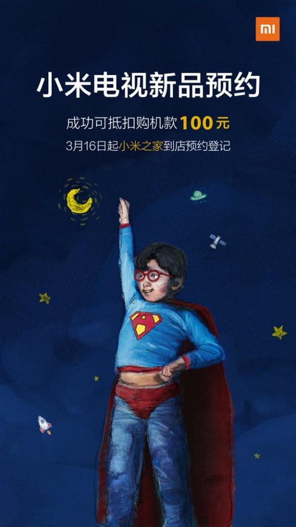 Presentación de nuevo televisor Xiaomi Mi TV
