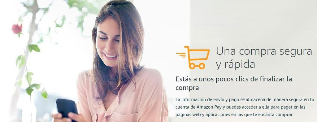 Opciones de uso de Amazon Pay