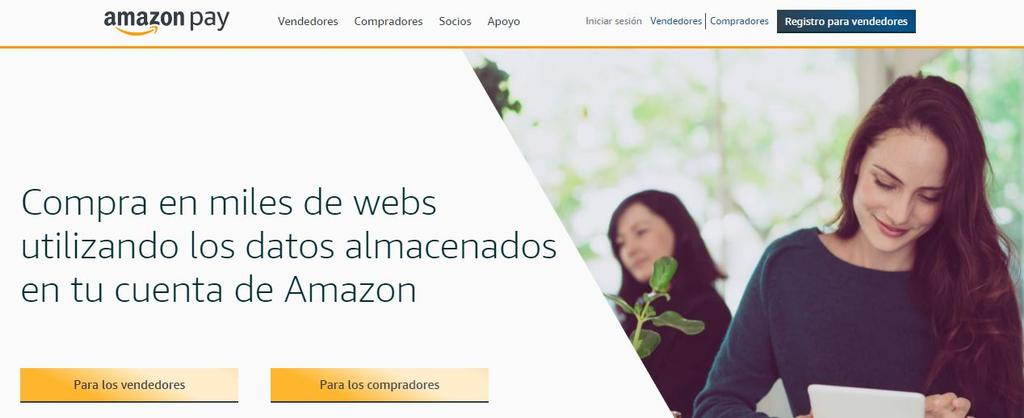 Amazon Pay datos en España